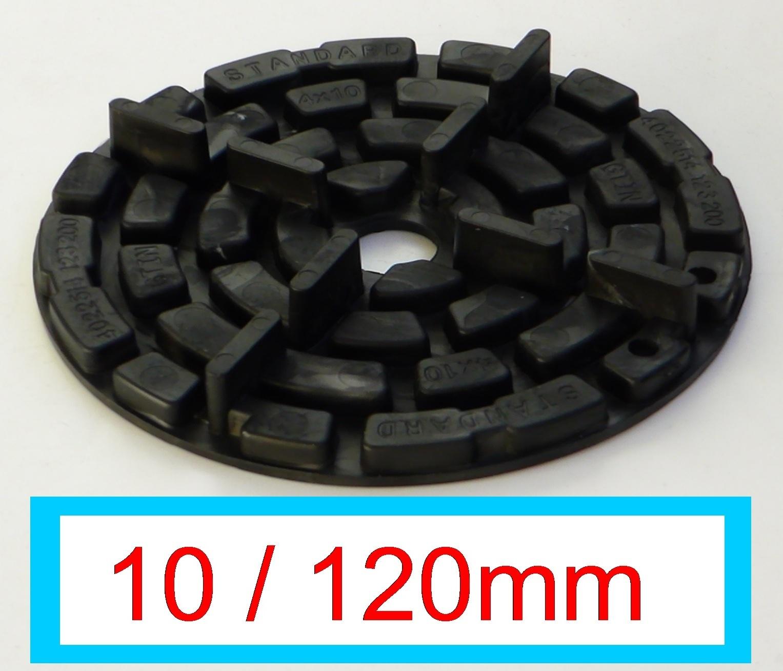 Plattenlager 100 x Distanzscheiben 35 mm für höhenverstellbares Stelzlager